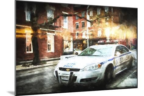 NYPD Police-Philippe Hugonnard-Mounted Giclee Print