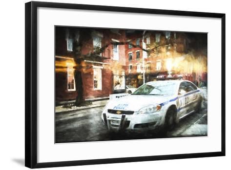 NYPD Police-Philippe Hugonnard-Framed Art Print