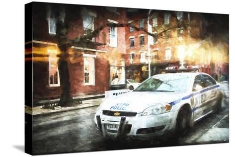 NYPD Police-Philippe Hugonnard-Stretched Canvas Print