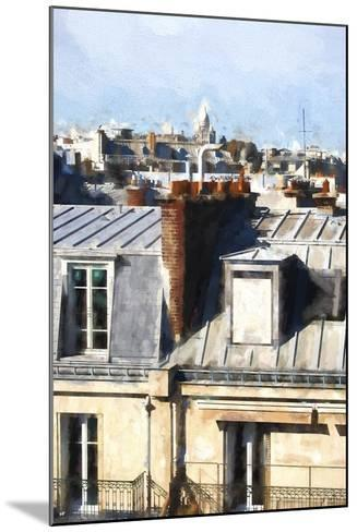 Paris Rooftops-Philippe Hugonnard-Mounted Giclee Print