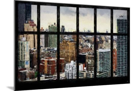 New York View from the Window-Philippe Hugonnard-Mounted Giclee Print