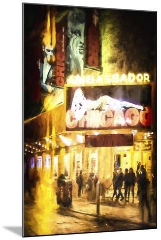Broadway at Night-Philippe Hugonnard-Mounted Giclee Print