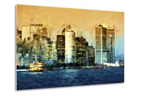 Lower Manhattan-Philippe Hugonnard-Metal Print