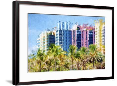 Multicoloured II - In the Style of Oil Painting-Philippe Hugonnard-Framed Art Print