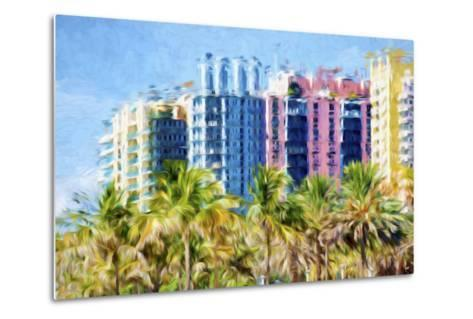 Multicoloured II - In the Style of Oil Painting-Philippe Hugonnard-Metal Print