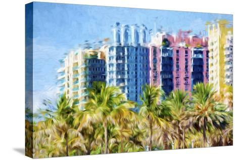 Multicoloured II - In the Style of Oil Painting-Philippe Hugonnard-Stretched Canvas Print