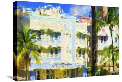 Art Deco V - In the Style of Oil Painting-Philippe Hugonnard-Stretched Canvas Print