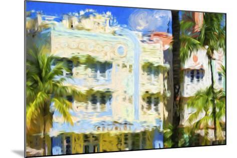 Art Deco V - In the Style of Oil Painting-Philippe Hugonnard-Mounted Giclee Print