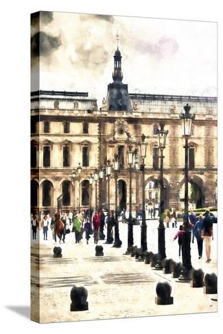 Walk in Paris-Philippe Hugonnard-Stretched Canvas Print