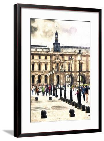 Walk in Paris-Philippe Hugonnard-Framed Art Print