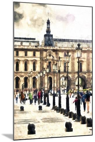 Walk in Paris-Philippe Hugonnard-Mounted Giclee Print