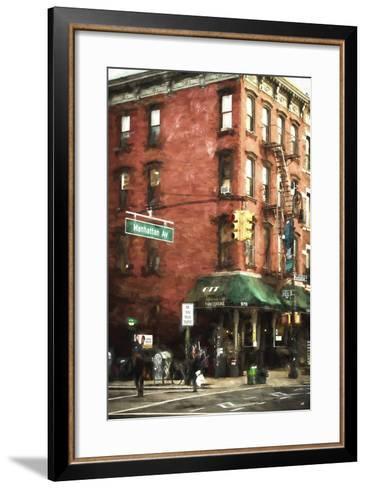 Brooklyn Sreet Scene-Philippe Hugonnard-Framed Art Print