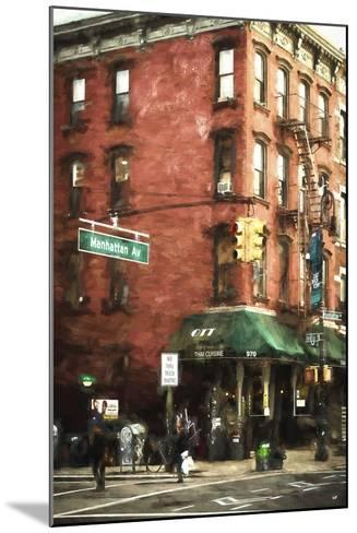 Brooklyn Sreet Scene-Philippe Hugonnard-Mounted Giclee Print