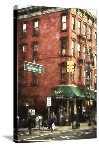 Brooklyn Sreet Scene-Philippe Hugonnard-Stretched Canvas Print