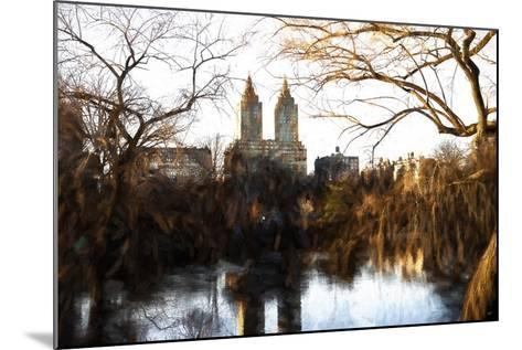 Fall Colors on Central Park-Philippe Hugonnard-Mounted Giclee Print