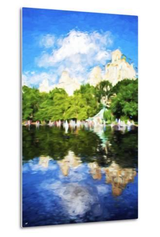 Summer Reflections - In the Style of Oil Painting-Philippe Hugonnard-Metal Print