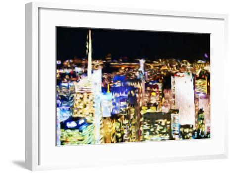 New York Skyline III - In the Style of Oil Painting-Philippe Hugonnard-Framed Art Print