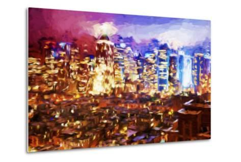 City of Lights II - In the Style of Oil Painting-Philippe Hugonnard-Metal Print