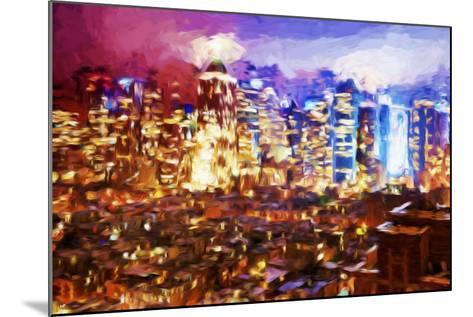 City of Lights II - In the Style of Oil Painting-Philippe Hugonnard-Mounted Giclee Print