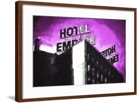 Hotel Empire III-Philippe Hugonnard-Framed Art Print