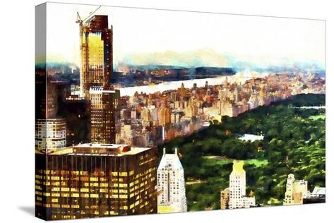 New York City Lights-Philippe Hugonnard-Stretched Canvas Print