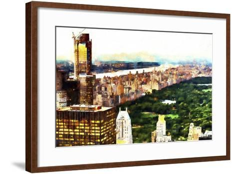 New York City Lights-Philippe Hugonnard-Framed Art Print