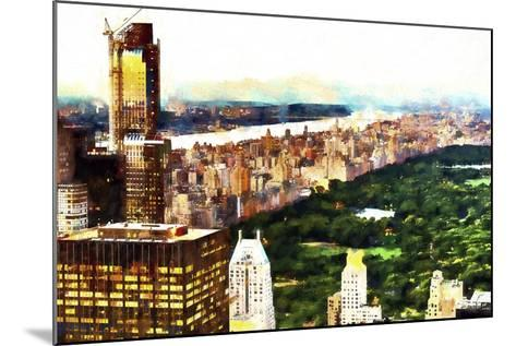 New York City Lights-Philippe Hugonnard-Mounted Giclee Print