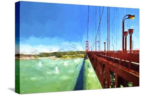 Golden Gate Bay-Philippe Hugonnard-Stretched Canvas Print
