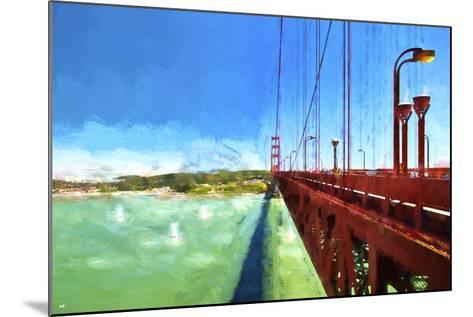 Golden Gate Bay-Philippe Hugonnard-Mounted Giclee Print