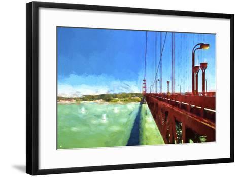 Golden Gate Bay-Philippe Hugonnard-Framed Art Print