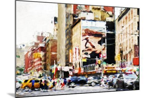 Street Scene IV - In the Style of Oil Painting-Philippe Hugonnard-Mounted Giclee Print