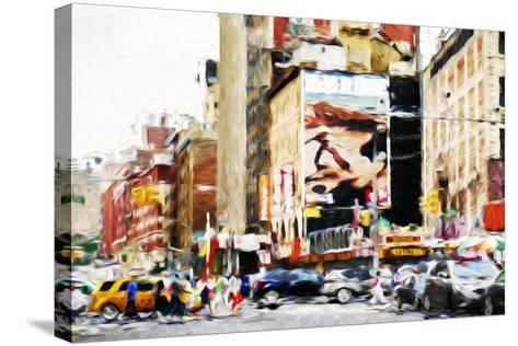 Street Scene IV - In the Style of Oil Painting-Philippe Hugonnard-Stretched Canvas Print