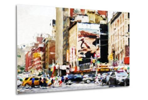 Street Scene IV - In the Style of Oil Painting-Philippe Hugonnard-Metal Print