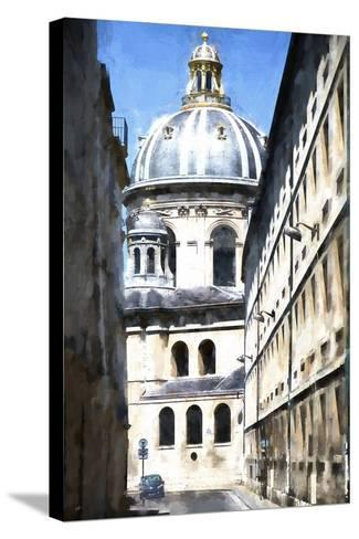 Paris Architecture-Philippe Hugonnard-Stretched Canvas Print