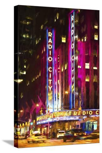 Radio City Music Hall-Philippe Hugonnard-Stretched Canvas Print