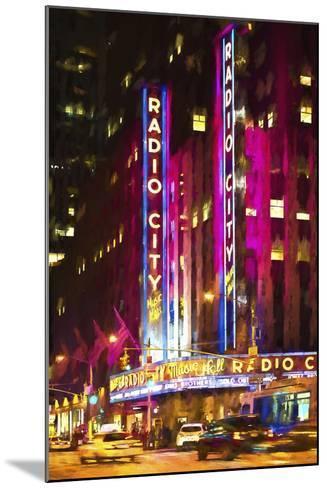 Radio City Music Hall-Philippe Hugonnard-Mounted Giclee Print