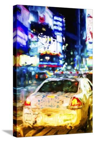 NYPD - In the Style of Oil Painting-Philippe Hugonnard-Stretched Canvas Print