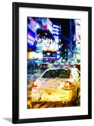 NYPD - In the Style of Oil Painting-Philippe Hugonnard-Framed Art Print