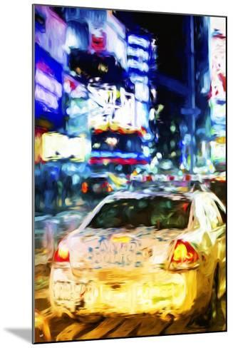 NYPD - In the Style of Oil Painting-Philippe Hugonnard-Mounted Giclee Print