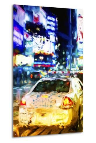 NYPD - In the Style of Oil Painting-Philippe Hugonnard-Metal Print