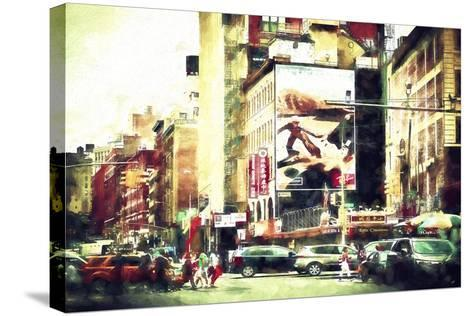 Manhattan Life-Philippe Hugonnard-Stretched Canvas Print