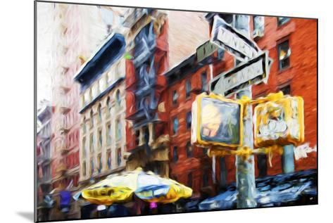 NYC Scenes - In the Style of Oil Painting-Philippe Hugonnard-Mounted Giclee Print