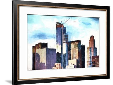 Skyscrapers-Philippe Hugonnard-Framed Art Print
