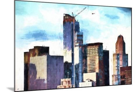 Skyscrapers-Philippe Hugonnard-Mounted Giclee Print