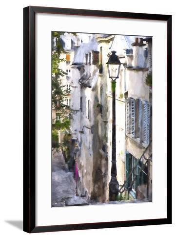 Alley in Paris-Philippe Hugonnard-Framed Art Print