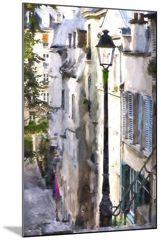 Alley in Paris-Philippe Hugonnard-Mounted Giclee Print