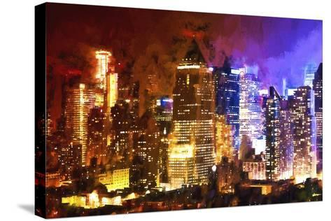 Manhattan Color Shade-Philippe Hugonnard-Stretched Canvas Print