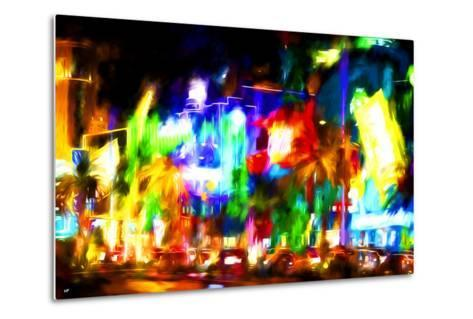 Colors Strip - In the Style of Oil Painting-Philippe Hugonnard-Metal Print