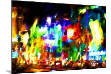 Colors Strip - In the Style of Oil Painting-Philippe Hugonnard-Mounted Giclee Print