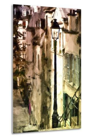 Alley in Montmartre-Philippe Hugonnard-Metal Print